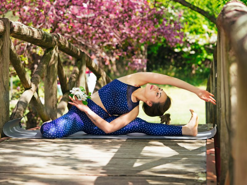 Doing yoga at fresh environment is best for health